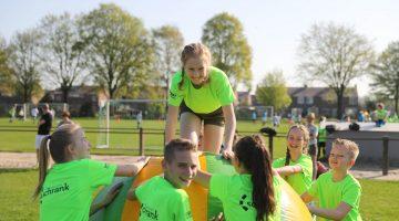 Zonnige en sportieve Koningsspelen in Nederweert (Foto's)