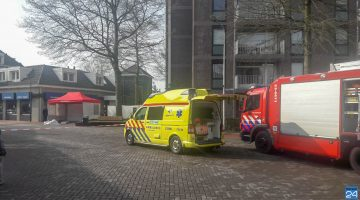 Persoon overlijdt na val van flat Hoogpoort Weert