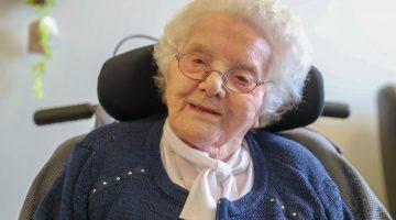 Oudste inwoner van Nederweert wordt 105 jaar (Foto's)