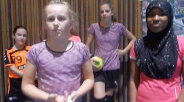 Vlog Bengele Beweegt met Asha, Anouk en Pepijn | MEOS Handbal Nederweert