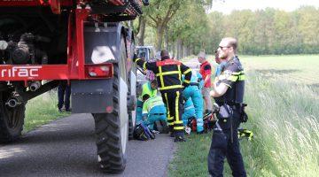Fietsster overleden na ongeval Leveroy