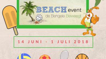 Vierde editie van het Bengele Beweegt Beach Event