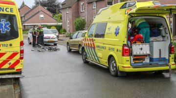 Fietser ernstig gewond na aanrijding Bredeweg