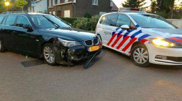 Automobilist richt ravage aan in Heythuysen