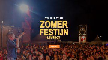 Zomerfestijn Leveroy