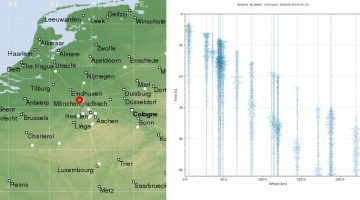 Lichte aardbeving Stramproy