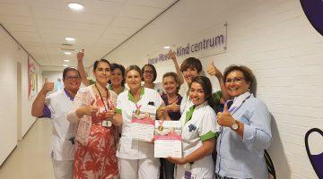 Behoud bronzen Smiley's voor Vrouw-Moeder-Kind centrum SJG Weert