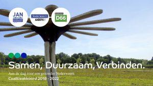 JAN, Nederweert Anders en D66 Nederweert ondertekenen coalitieakkoord