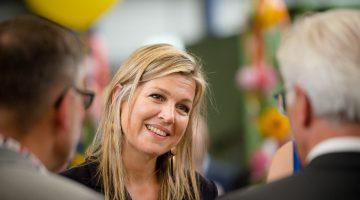 Koningin Máxima bezoekt Ittervoort voor ondertekening convenanten muziekonderwijs in Limburg