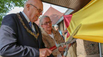 Kunstlint Nederweert geopend door Burgemeester Evers (Foto's)