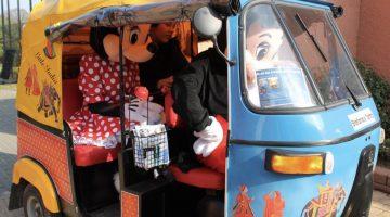 Stichting Moeder met een Missie organiseert tour met 18 tuk tuks