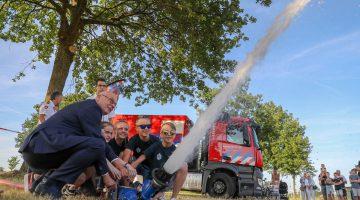 Nieuwe waterwagen wijdt locatie nieuwe brandweerkazerne Nederweert in