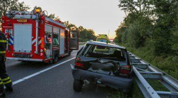 Gewonde bij ongeval op A2