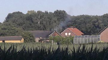 Schuurbrand in Stramproy