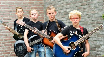 Scary Kids én Lakefield spelen tijdens Zomerbraderie