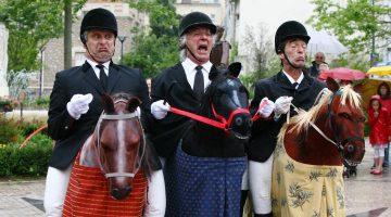 Vier verschillende voorstellingen bij Buitencentrum De Pelen