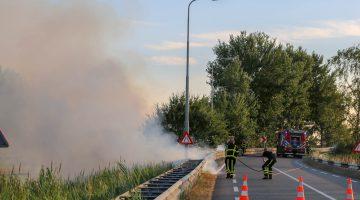 Twee branden tegelijkertijd op Kempenweg