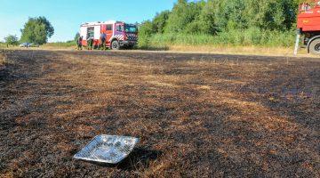Wegwerp BBQ zorgt voor brand in Nederweert-Eind