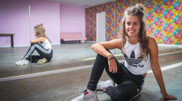 Aniek Lalieu begint dansstudio 'AL Dance'