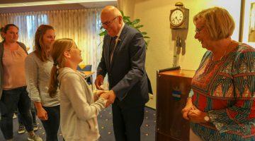 Herbenoeming burgemeester Evers Nederweert