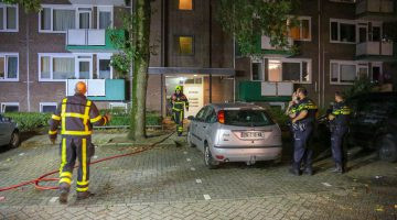 Woningbrand in flat Laurenburg
