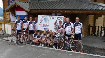 Team Rob – ruim 31.000 euro voor onderzoek kanker en hersentumoren