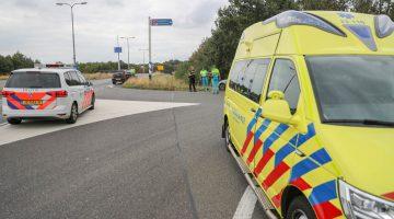 Botsing op toerit A2 Weert-Noord (38)