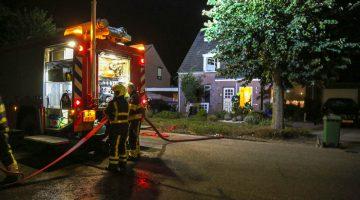 Brand in kruipruimte woning Anselberg