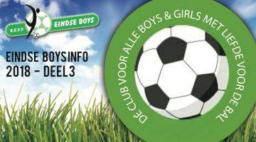Eindse Boys Info nummer 3