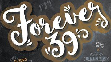 'Forever 39' party bij Eetcafé de Kleine Winst Nederweert