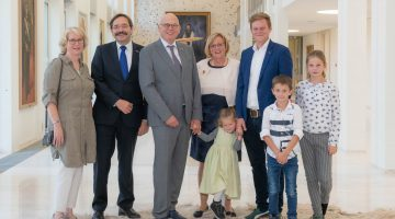 Henk Evers beëdigd tot burgemeester van Nederweert
