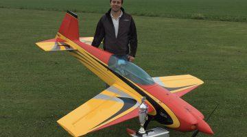 Jurriën Vissers Nederlands kampioen modelvliegen