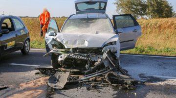 Twee jonge kinderen ernstig gewond bij ongeval