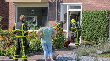 Brandje tijdens koken Tjongerstraat Nederweert-Eind