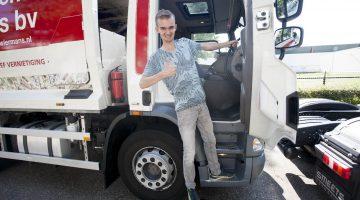 Truckrun Weert tovert glimlach op gezichten (Foto's)