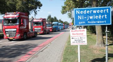 Truckrun 2018 door gemeente Nederweert (Foto's)