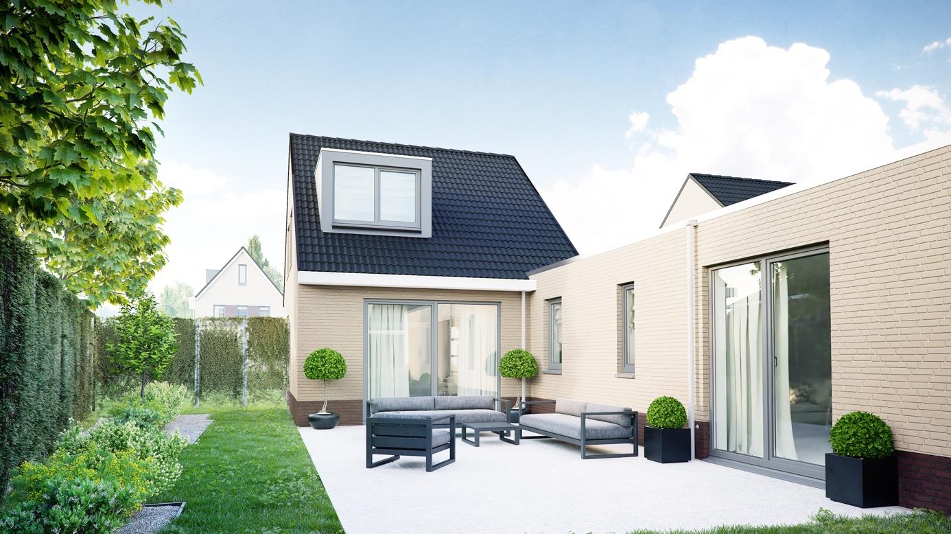 Semi Bungalow Bouwen : Ontdek de luxe en fraaie semi bungalow in plan hoebenakker