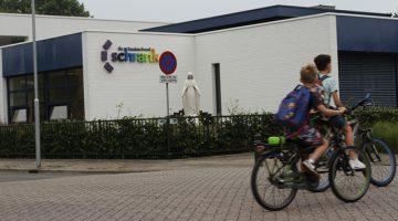Verkeersles voor leerlingen De Schrank