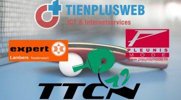 Nieuwe Hoofdsponsor voor TTCN'72