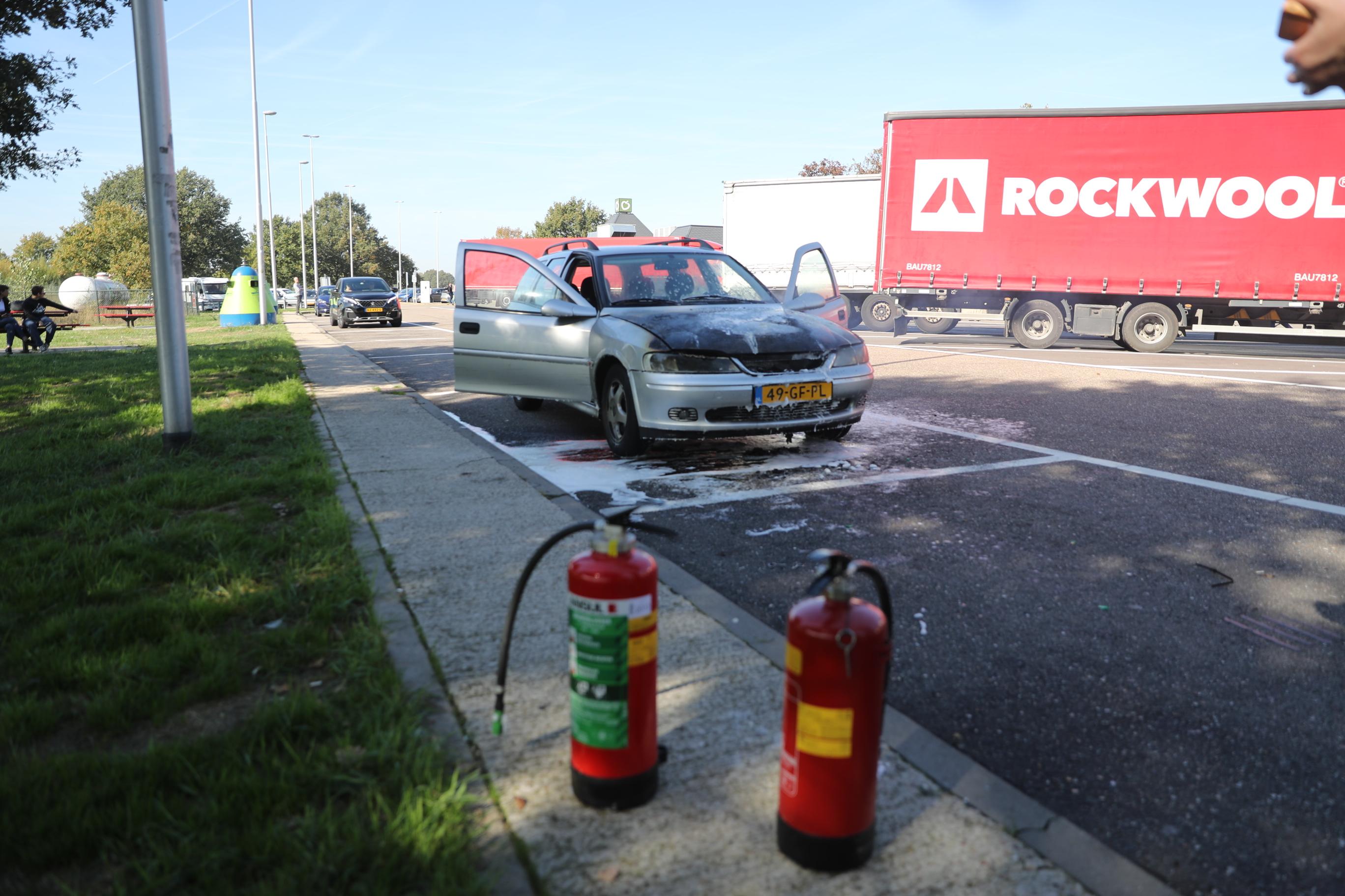 Autobrand Bij Wegrestaurant A2 La Place Nederweert Nederweert24