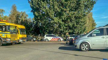 Politiehelikopter ingezet bij aanhouding autodieven