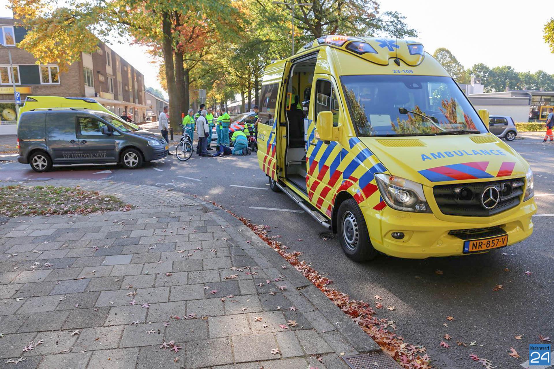 Fietsster gewond na aanrijding Weert - Nederweert24