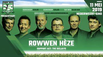 Rowwen Hèze naar Nederweert-Eind