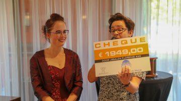 IJssalon Florence haalt 1949 euro op voor de 'Zingende Diva'