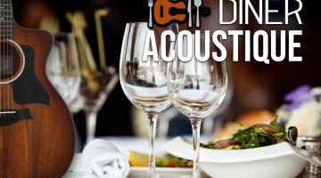Eten en muziek smelten samen – Diner Acoustique