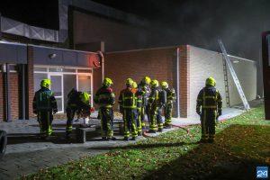 Zwembad Nederweert blijft nog weken dicht na brand, fitness woensdag open