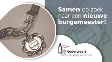 Gemeente Nederweert zoekt een nieuwe burgemeester