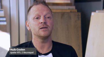Ospelnaar Huib Coolen bij uitzending RTLZ