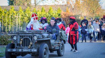 Intocht Sinterklaas in Leveroy (Foto's)