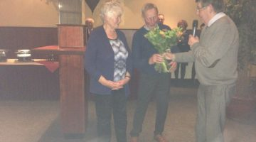 Jan Geuns 75 jaar lid kerkelijk zangkoor Ospel